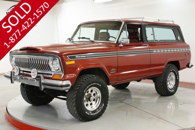 1977 JEEP  CHEROKEE LS CONVERSION!! FRAME OFF RESTORED 4x4