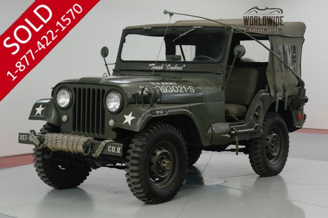 1957 JEEP CJ  RESTORED M38 TRIBUTE CJ. 4x4. ACCESSORIES (VIP)