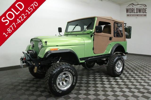 1975 Jeep CJ5 for Sale