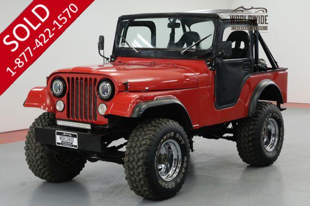 1973 JEEP CJ5 RESTORED LIFTED BIKINI TOP 6 CYL UPGRADES!