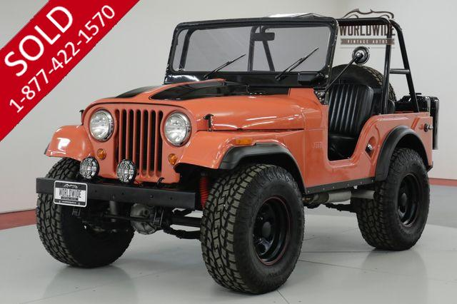 1966 JEEP  CJ5   FRAME OFF RESTORED. HIGH DOLLAR BUILD 4X4 (VIP)