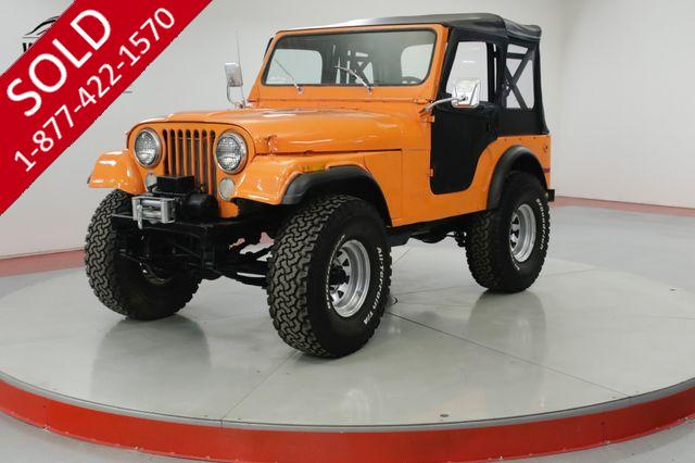 1976 JEEP  CJ5  304 V8 4X4 NEW TOP READY FOR THE SUMMER