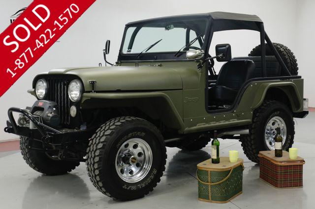 1973 JEEP CJ5  FRAME OFF RESTORATION PS FUEL INJECTION