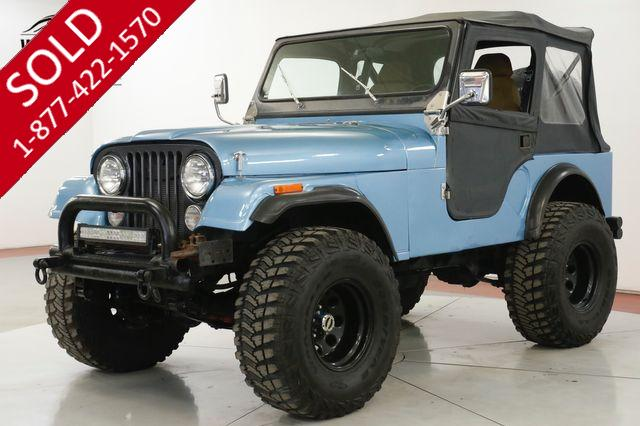 1981 JEEP CJ5 V8 4SPD HOLLEY FUEL INJECTION PS