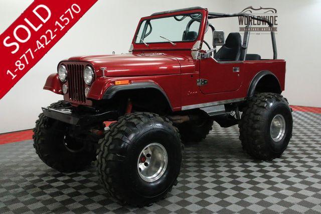 1985 JEEP CJ7 4WD EXTENSIVE RESTORATION $25K INVESTED