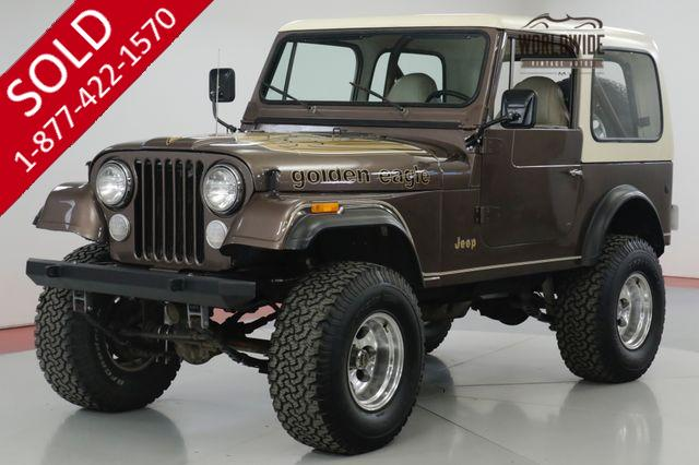 1979 JEEP  CJ7  GOLDEN EAGLE. V8 4X4 RARE TIME CAPSULE
