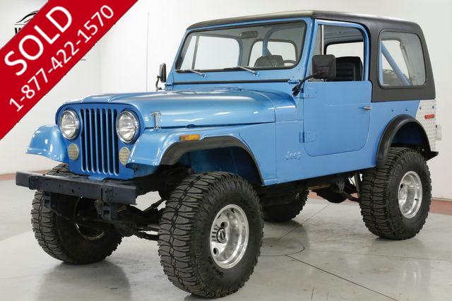 1976 JEEP  CJ7  RESTORED PS PB REMOVEABLE HARDTOP LIFTED