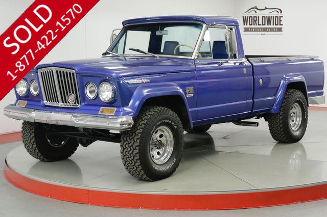 1967 JEEP  GLADIATOR  J10 V8 FRAME OFF RESTORATION. RARE COLLECTOR