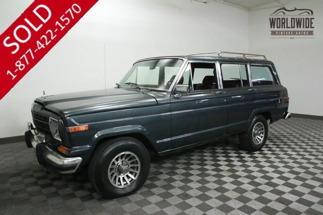 1989 Jeep Grand Wagoneer V8 for Sale