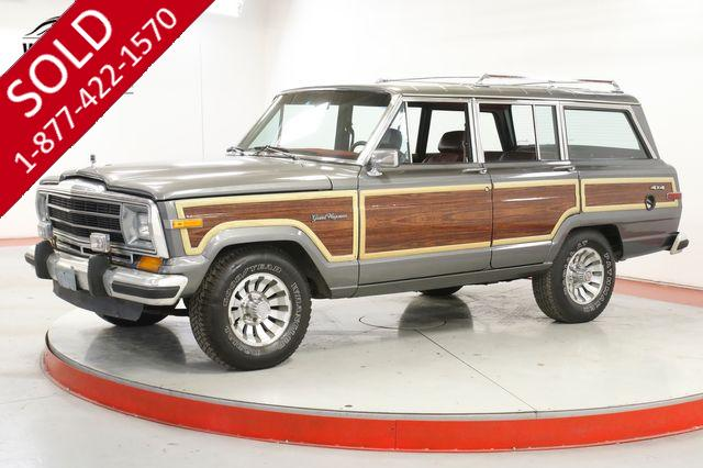 1987 JEEP GRAND WAGONEER EXTREMELY LOW MILES 5.9L V8 AUTO POWER