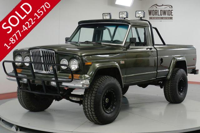 1978 JEEP  J10 GLADIATOR. RESTORED. PS PB 4X4 V8! AC! RARE!