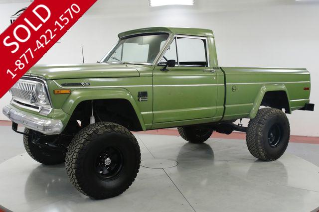 1972 JEEP  J20 GLADIATOR V8 LEATHER PS PB RARE 4x4