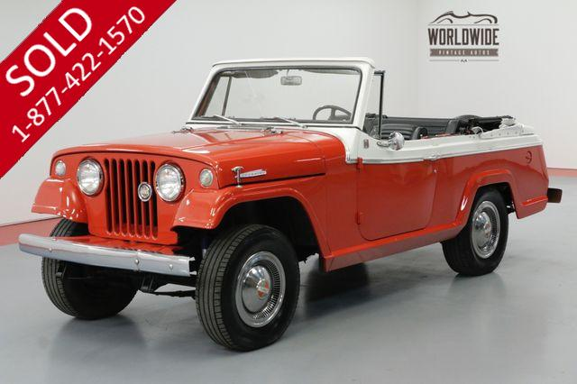 1967 JEEP JEEPSTER CABRIOLET BODY 6 CYL MANUAL 4X4