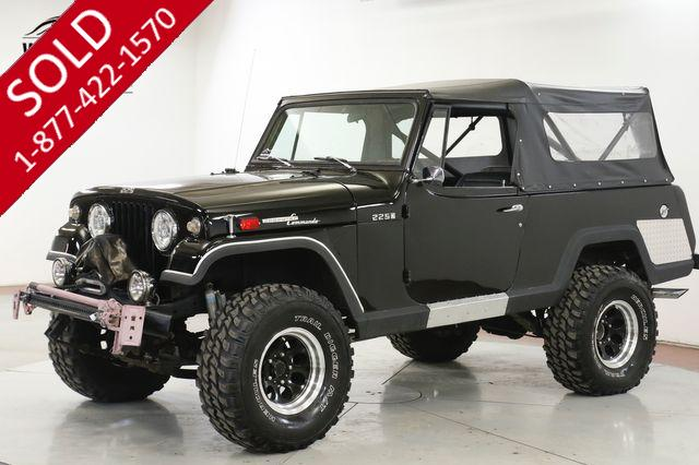 1970 JEEP JEEPSTER  4X4 CUSTOM LIFT PS DISC CONVERTIBLE RARE