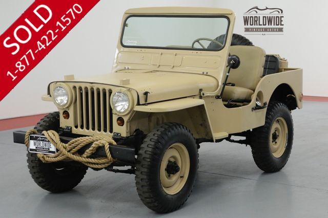 1951 JEEP M38 RESTORED REAL M38 4X4!! RARE VINTAGE 4x4.