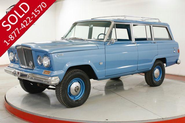 1963 JEEP WAGONEER GLADIATOR 4x4 PS PB 43K ORIGINAL MILES RARE
