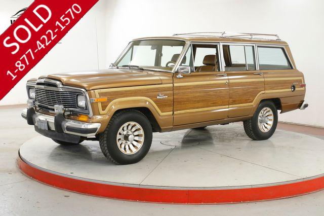 1985 JEEP WAGONEER EXTREMELY CLEAN 1 OWNER LOW MI CLEAN CARFAX