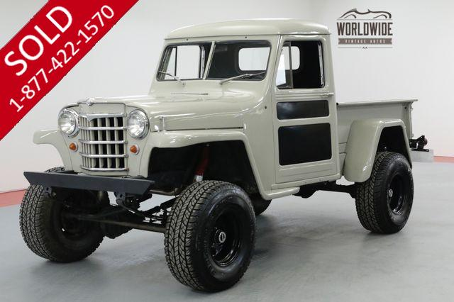 1953 JEEP WILLYS V8 AUTO POWER STEERING POWER DISC BRAKES