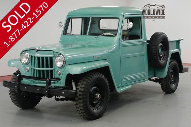 1952 JEEP  WILLYS  KAISER OVERLAND RESTORED 4x4 HURRANCE