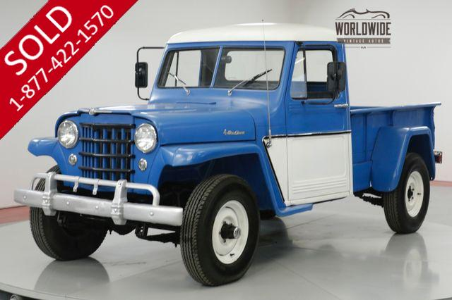 1956 JEEP  WILLYS  350V8! RARE! 3-SPEED WITH HI AND LO 4X4!