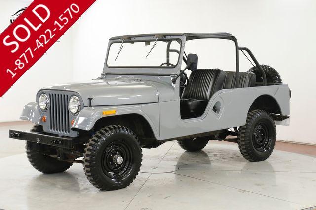 1961 JEEP WILLYS CJ6. RESTORED. $30K INVESTED RARE 4x4 CJ5 CJ7