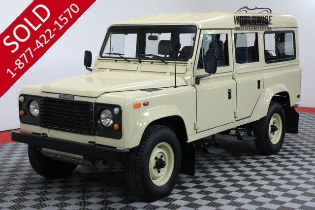 1984 LAND ROVER DEFENDER 110 COMPLETELY RESTORED 3.5 LTR V8 DEFENDER