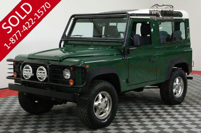 1997 LAND ROVER DEFENDER 90 NAS. 55K ORIGINAL MILES! COLLECTOR GRADE!