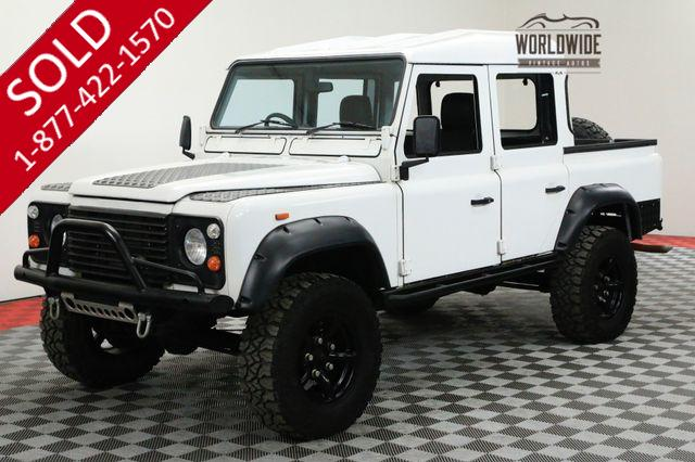 1988 LAND ROVER DEFENDER 110 CREW CAB 300 TDI DIESEL 5 SPEED