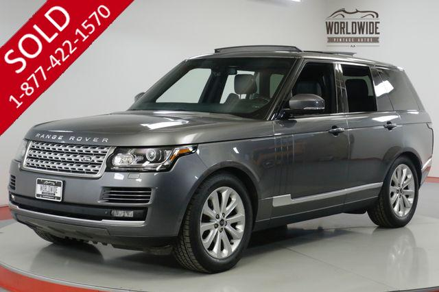 2014 LAND ROVER  RANGE ROVER  LOW MILES SUPERCHARGED V6 PADDLE SHIFTERS
