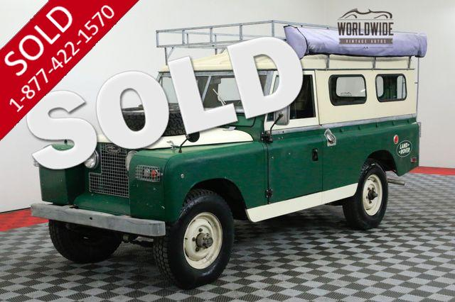1966 LAND ROVER SERIES 109 V8 CONVERSION 4X4 ADVENTURE RIG