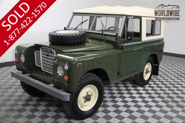1972 Land Rover for Sale