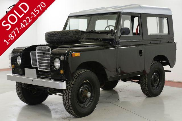 1973 LAND ROVER  SERIES 4x4 CONVERTIBLE SEATS 7 OVERDRIVE DEFENDER