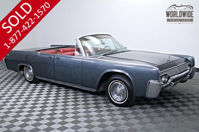 1961 Lincoln Continental Convertible for Sale