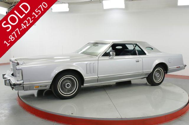 1978 LINCOLN CONTINENTAL MARK V - V8. COLLECTOR! MUST SEE. V8 LUXURY