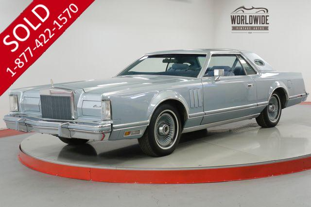 1978 LINCOLN MARK V DIAMOND JUBILEE ONE OWNER! LOW MILES! AC!
