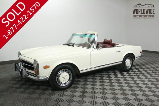 1970 Mercedex Benz 280SL Roadster for Sale