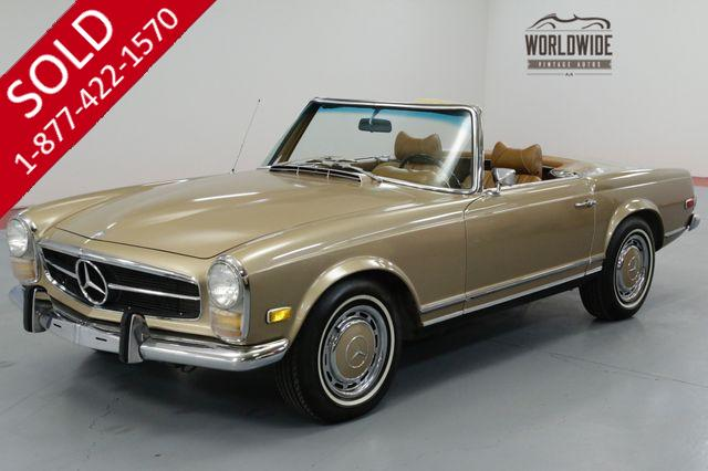 1969 MERCEDES BENZ 280SL ONE OWNER FAMILY SINCE NEW BEAUTIFUL & RARE!