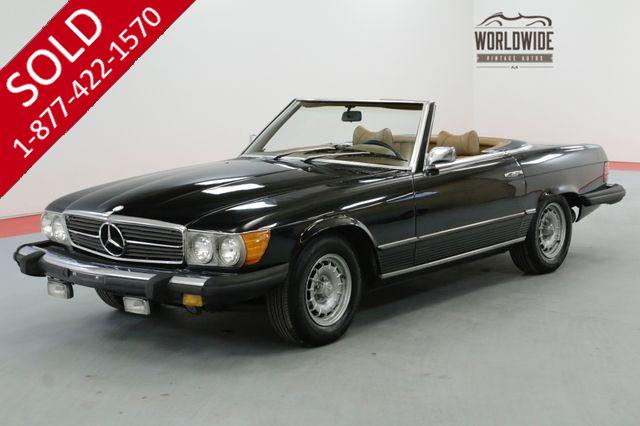 1974 MERCEDES-BENZ 450SL FACTORY TWO TOP CAR REBUILT TRANSMISSION