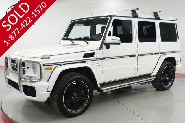 2016 MERCEDES-BENZ G63 AMG LOW MILES G55 G550 FULLY OPTIONED BEST COLOR