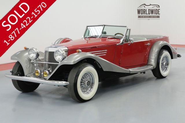 1939 MERCEDES-BENZ ROADSTER V8 AUTO CONVERTIBLE