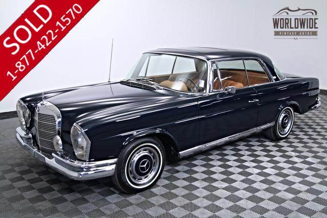 1966 Mercedes 250 SE Sports Coupe for Sale