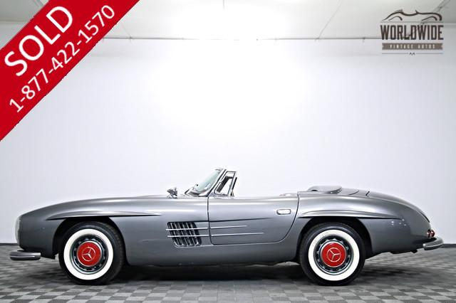 1957 Mercedes 300SL Roadster V8 for Sale