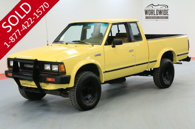 1985 NISSAN KING CAB DELUXE LOW MILES 4X4 EXCELLENT CONDITION