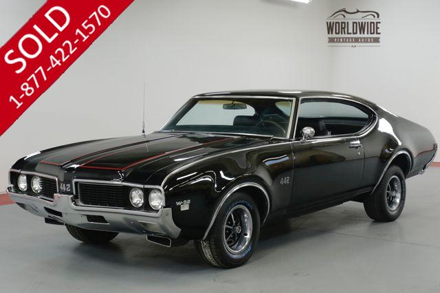 1969 OLDSMOBILE 442 RARE 1 OF 297 W32! RESTORED. $70K INVESTED