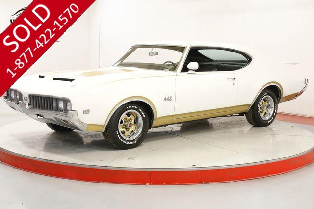 1969 OLDSMOBILE 442 BUILT 455 PS PB HIS/HERS W30 OPTIONS