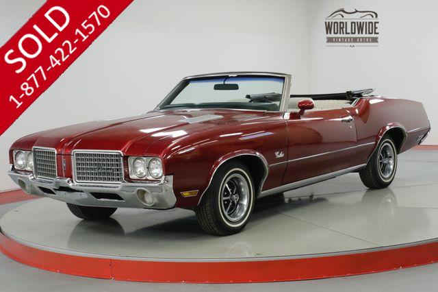 1972 OLDSMOBILE CUTLASS FRAME UP RESTORATION 350 V8 PS/PB