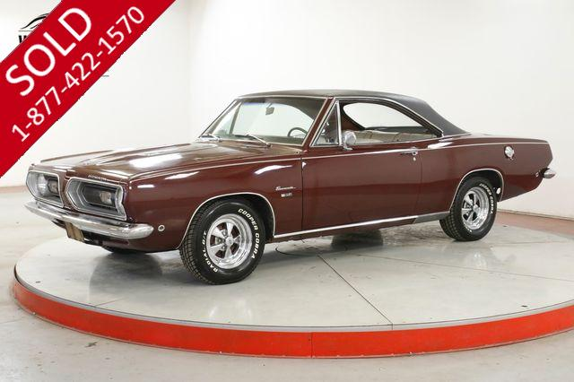 1968 PLYMOUTH BARRACUDA NOTCHBACK V8 AUTO CONSOLE PS MUST SEE