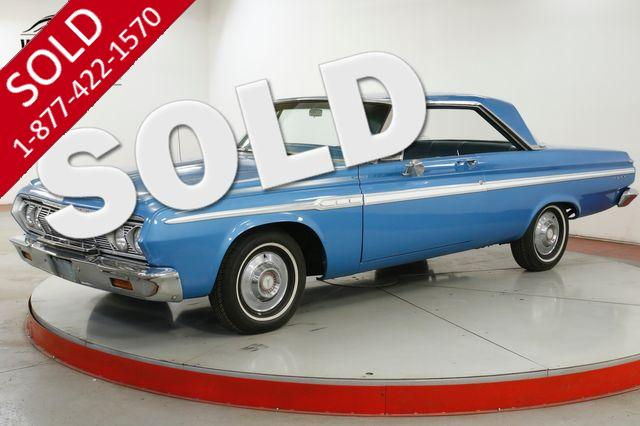 1964 PLYMOUTH FURY V200 COUPE 1 OWNER 318 PUSH BUTTON AUTO
