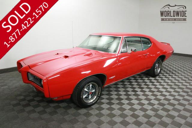 1968 Pontiac GTO V8 for Sale