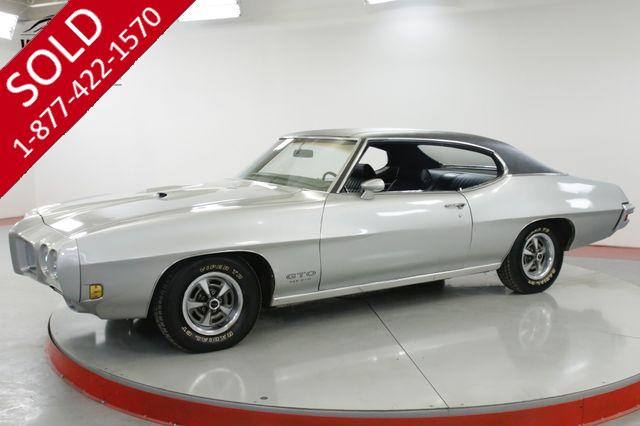 1970 PONTIAC  GTO NUMBERS MATCHING 455 HO FACTORY AC COLLECTOR